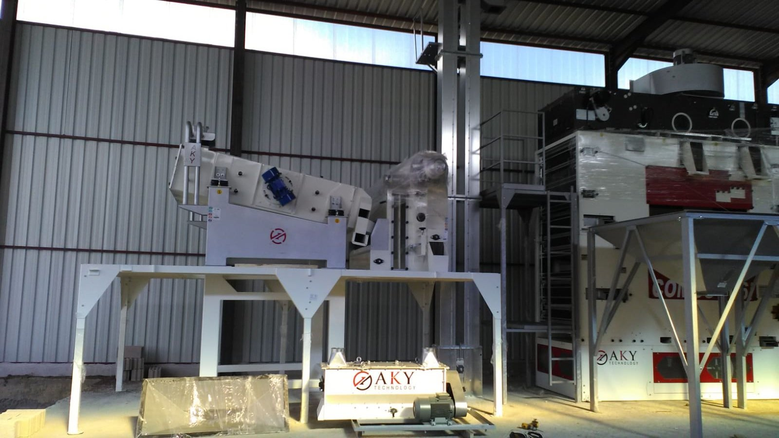 SEED CLEANING PLANT IN KIRSEHIR, TURKEY