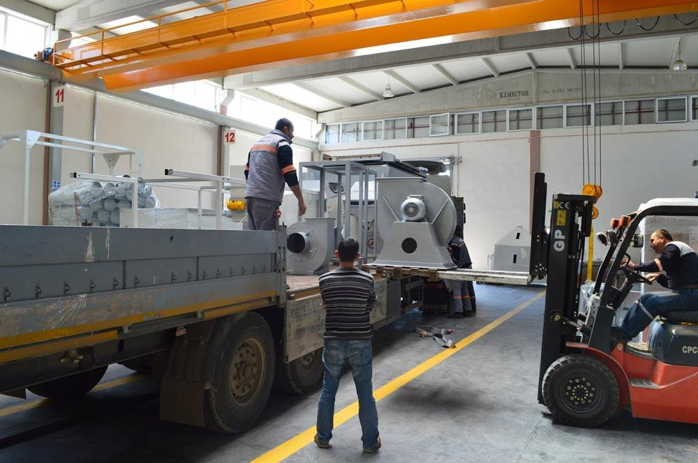 AKY Technology has delivered Pulses Cleaning and and Processing Plant to Mersin Company
