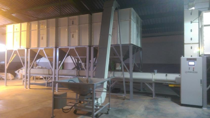 Mixing Bird Feed installation Plant was completed in Bulgaria