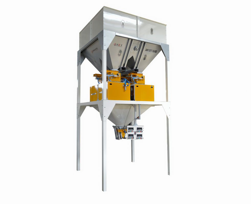 Electronic Weighing and Bagging Machine (Four Scale)