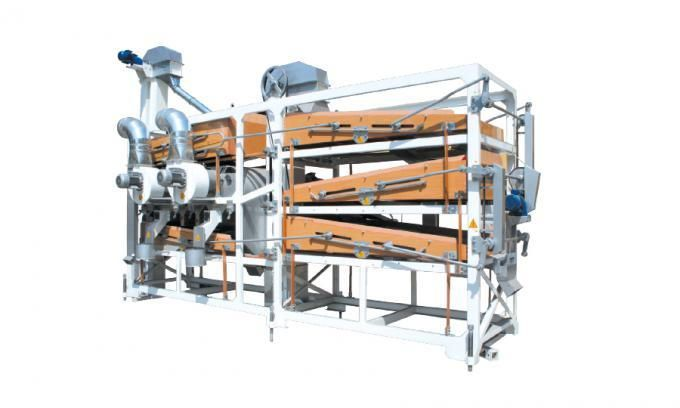 Combo Screen Cleaner and Grader Machine