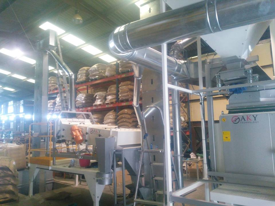 Coffee Grains Screening Plant