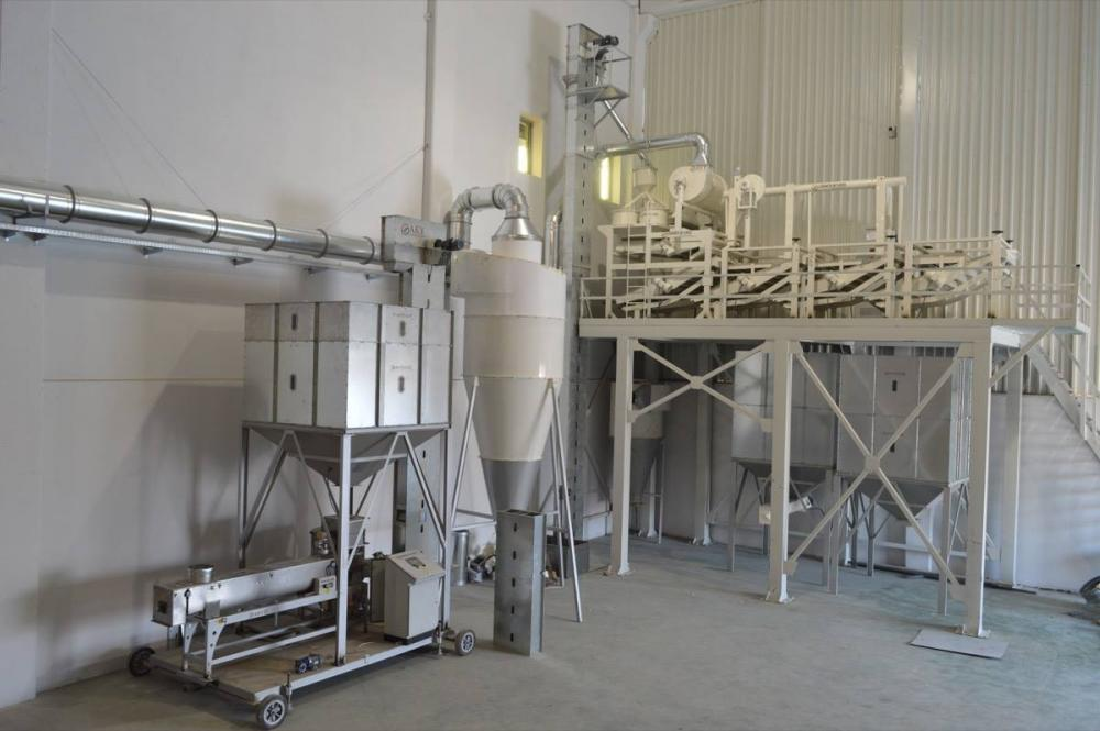 Pulses Cleaning And Screening Plant