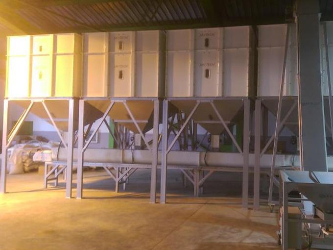 Mixing Bird Feed installation Plant