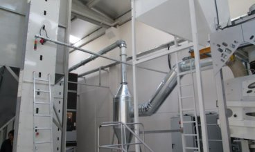 2 Tone / hour for Sunflower Cleaning & Screening Line