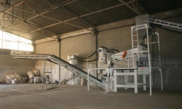 20 Tons / hour of Wheat Cleaning Line